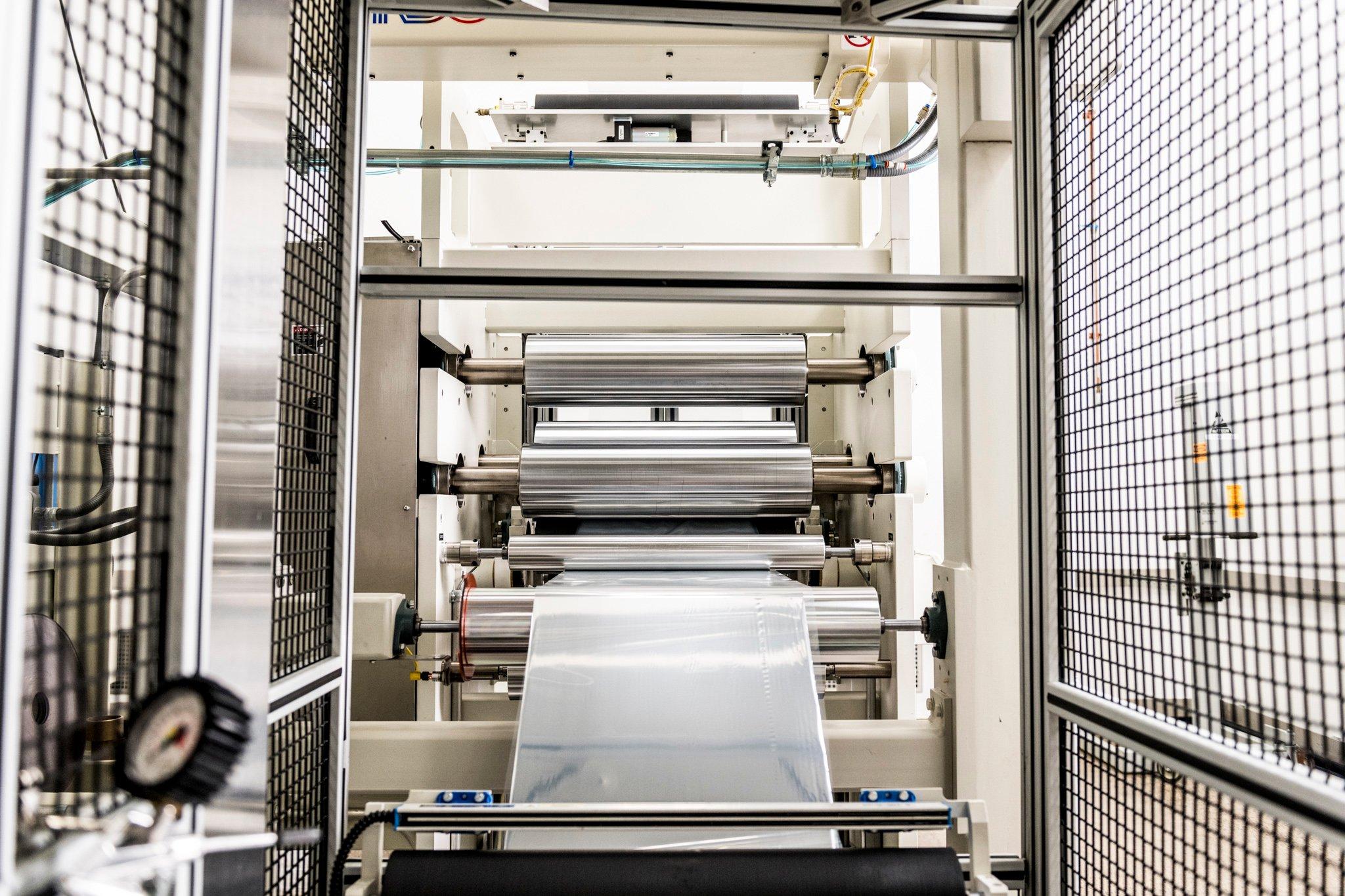 Tapemark's commercial coating equipment