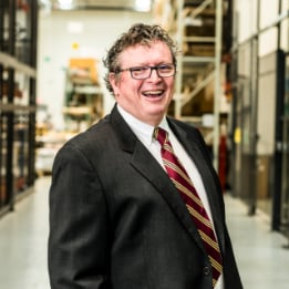 Tapemark's VP of Research and Development, Cormac Lyons
