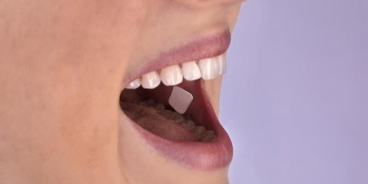 photo showing oral transmucosal drug delivery